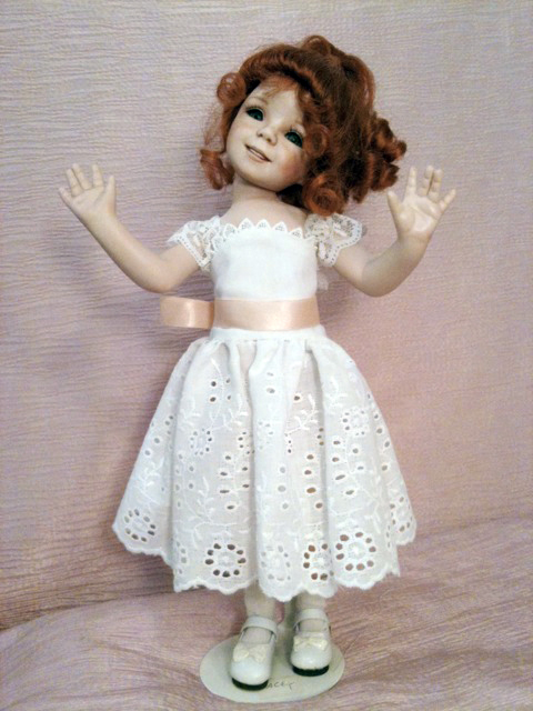 Dianna Effner 12 inch all porcelain dolls