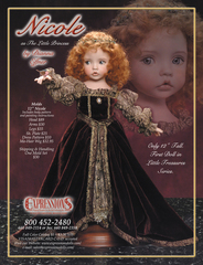 Dianna Effner Princess Pattern for 12 inch Nicole