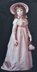 Amanda Dress Pattern for 26 Inch Lady Dolls
