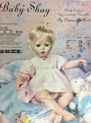 Baby Shay dress pattern for 24 inch baby dolls