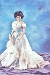 1893 Worth Gown, for 36 inch Vicki Hamilton