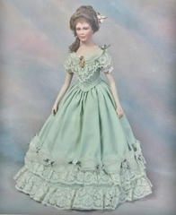 Diane pattern for 18 inch lady doll