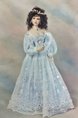 Kathleen pattern for 22 inch lady doll