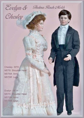 Evelyn pattern for 18 inch lady doll