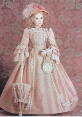 Bess pattern for 26 inch lady doll by Rose Pinkul