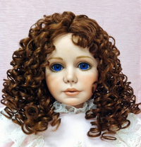 WTA9  Antina Wig size 13 brown only