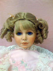 Cindy 11/12 Strawberrry Blonde Crowning Glory Wig