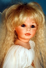 Skeeter 09/10 Pale Blonde Doll Artworks Wig