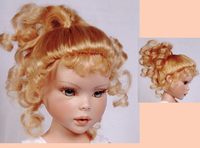Annabelle 7/8 brown/black Monique Wig