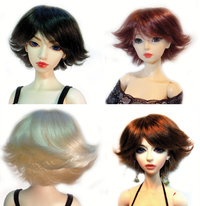 Roxie size 4 Monique Gold synthetic mohair Wig