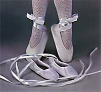 White 1600 Style Ballet Slippers 77/32mm