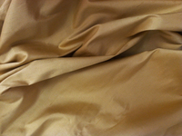 Deep Gold Dupioni Silk Fabric