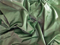 Apple Green China Silk Fabric