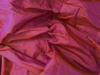 Iridescent Fuchsia China Silk Fabric