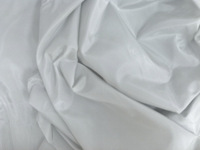 Pearl Gray Heavy Taffeta Fabric