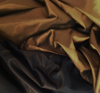 Copper Brown Reversible Heavy Taffeta Fabric