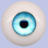 B111 Crystal Blue Waters Eyeco Silicone Fantasy Eyes