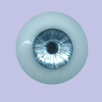 Blue Platinum 21MM Masterpiece Silicone Eyes