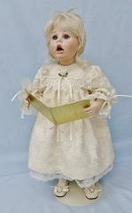 Caroler Lori as a Dressed Doll