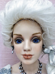 36 Inch Lady Head Demetria Blank Bisque French Glow