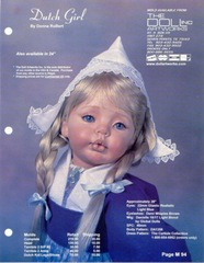 "Dutch Girl 24"" #CDA8021 Pattern"