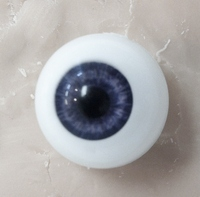 Dark Blue 18MM Glastic Realistic Eyes