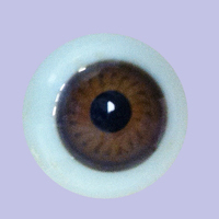 Antique Brown 14MM Blown Glass