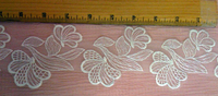 Lace Trim Embroidered Organza Galloon