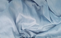 Light Blue Dupioni Silk Fabric